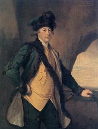 Portrait of John Whetham of Kirklington, c.1781/82 by Wright of Derby | Painting Reproduction