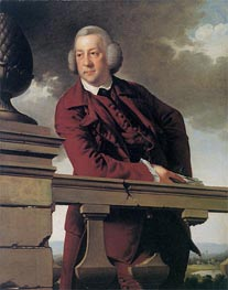Portrait of Robert Vernon Atherton Gwillym, 1766 by Wright of Derby | Painting Reproduction