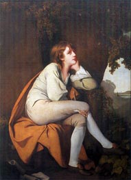 Edwin from Dr Beattie's Minstrel, c.1777/78 by Wright of Derby | Painting Reproduction