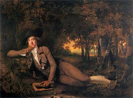 Brooke Boothby, 1781 by Wright of Derby | Painting Reproduction