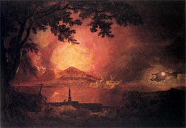 Vesuvius in Eruption, c.1777/80 by Wright of Derby | Painting Reproduction