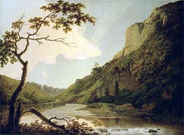 Matlock Tor by Daylight, c.1778/80 by Wright of Derby | Painting Reproduction