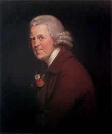 Portrait of Old John, Head Waiter at the King's Head in Derby, c.1780 by Wright of Derby | Painting Reproduction