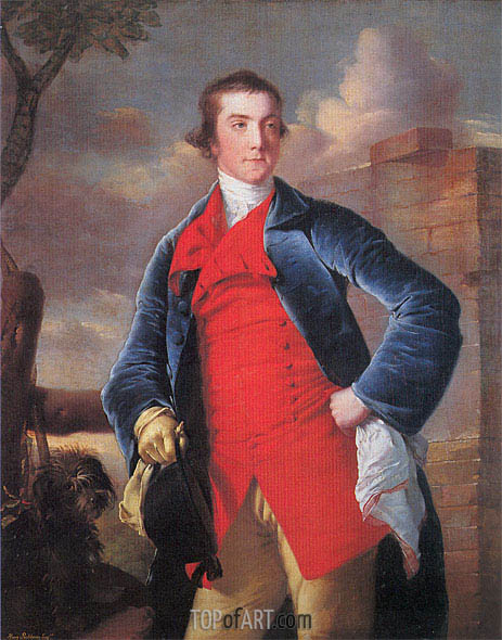 Portrait of Harry Peckham, c.1762/63 | Wright of Derby | Painting Reproduction
