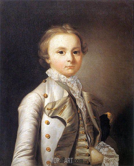 Wright of Derby   Portrait of Simon Wilmot, c.1760