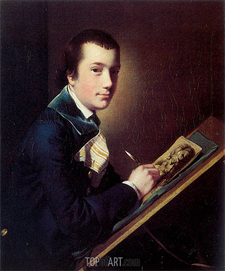 Portrait of Samuel Rastall, c.1762/64 | Wright of Derby | Painting Reproduction