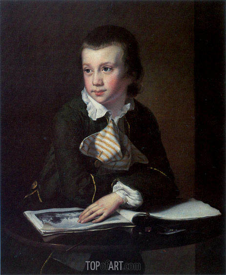 Portrait of William Rastall, c.1762/64 | Wright of Derby | Painting Reproduction