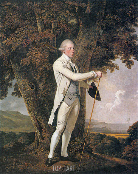 Wright of Derby | Portrait of John Milnes, 1776