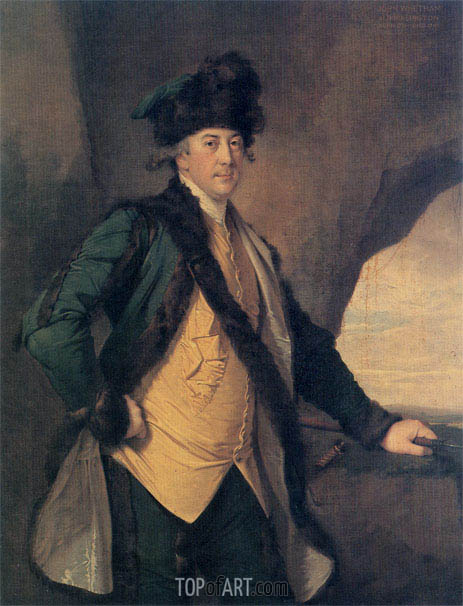 Portrait of John Whetham of Kirklington, c.1781/82 | Wright of Derby | Painting Reproduction