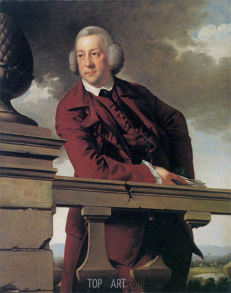 Portrait of Robert Vernon Atherton Gwillym, 1766 | Wright of Derby | Painting Reproduction