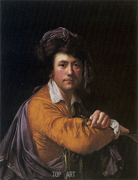 Wright of Derby | Self Portrait at the Age of about Forty, c.1772/73