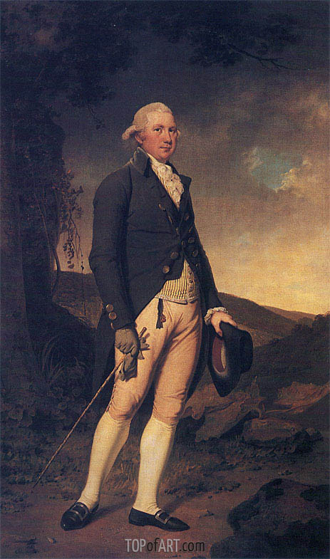Wright of Derby | Portrait of Charles Hurt of Wirksworth, c.1789/90