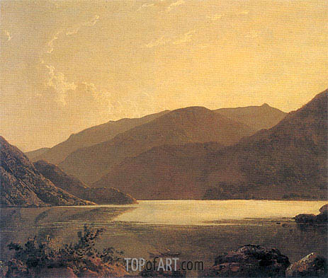 Wright of Derby | Ullswater, c.1795