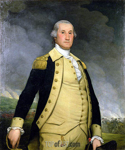 George Washington,  | Wright of Derby | Painting Reproduction