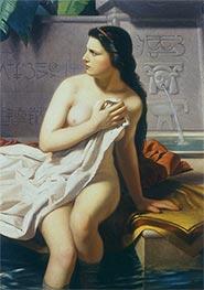 La casta Susana, c.1862 von Juan Manuel Blanes   Gemälde-Reproduktion