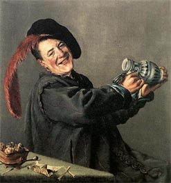 The Jolly Toper | Judith Leyster | Painting Reproduction