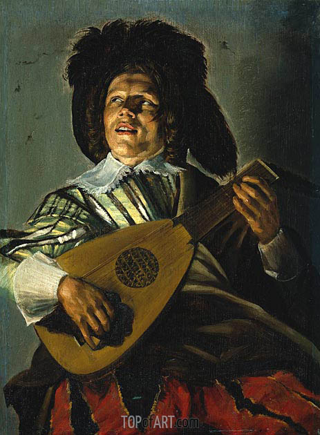 The Serenade, 1629 | Judith Leyster | Painting Reproduction