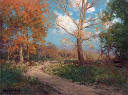October Sunlight, 1911 by Julian Onderdonk | Painting Reproduction