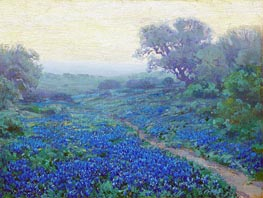 Bluebonnets at Sunrise | Julian Onderdonk | outdated