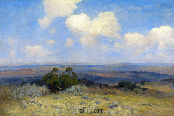 Julian Onderdonk | Sonnenlicht und Schatten, 1910