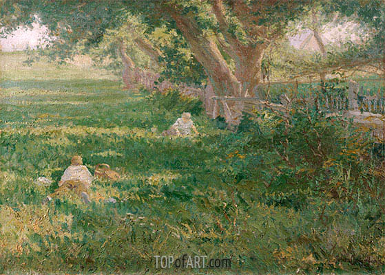 Springtime, 1901 | Julian Onderdonk | Painting Reproduction
