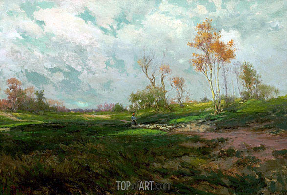 Autumn Shadows, undated | Julian Onderdonk | Painting Reproduction