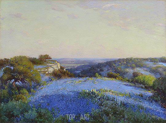 Near San Antonio, c.1918 | Julian Onderdonk | Painting Reproduction