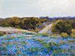 Bluebonnets at Late Afternoon, 1917 | Julian Onderdonk