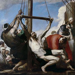 The Martyrdom of Saint Philip | Jusepe de Ribera | outdated