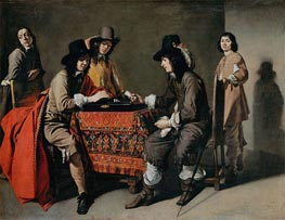 Tric-Trac Players | Le Nain Brothers | Painting Reproduction