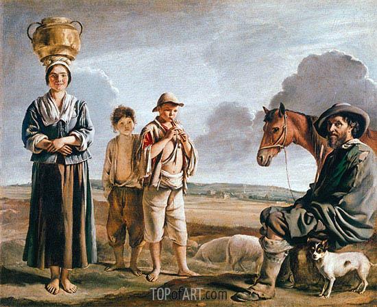 Le Nain Brothers | Die Ruhe Reiter, b.1640