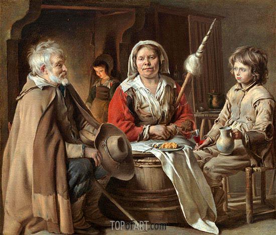Le Nain Brothers | Ein Französisch Innen, c.1645