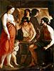 Venus in der Schmiede des Vulkan, 1641 | Antoine, Louis and Mathieu Le Nain