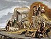 Der Heuwagen, 1641 | Antoine, Louis and Mathieu Le Nain
