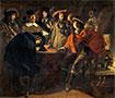 Gesellschaft von Rauchern (Die Wächter), 1643 | Antoine, Louis and Mathieu Le Nain