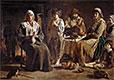 Bauernfamilie in einem Innenraum, c.1642 | Antoine, Louis and Mathieu Le Nain