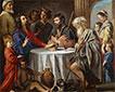 Abendmahl in Emmaus, c.1642 | Antoine, Louis and Mathieu Le Nain