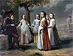 Die Tanzstunde, c.1641 | Antoine, Louis and Mathieu Le Nain