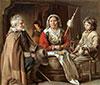 Ein Französisch Innen, c.1645 | Antoine, Louis and Mathieu Le Nain