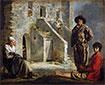 Bauern vor ihrem Haus, c.1641 | Antoine, Louis and Mathieu Le Nain