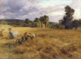The Storm in Harvest | Leon-Augustin Lhermitte | Painting Reproduction