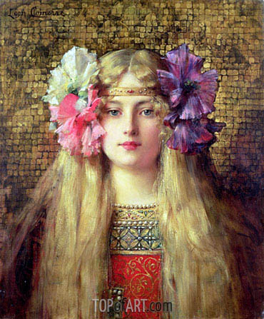Leon Comerre | The Blonde Woman, undated