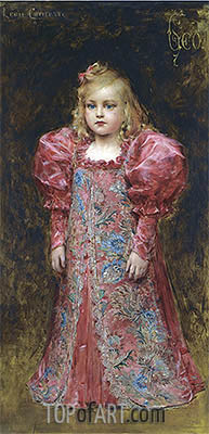 Girl in Costume, undated | Leon Comerre| Painting Reproduction