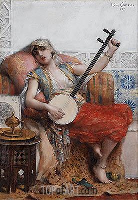Leon Comerre | Odalisque, 1887