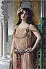 A Bejeweled Harem Beauty | Leon Francois Comerre