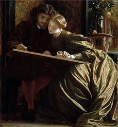 The Painter's Honeymoon, c.1864 by Frederick Leighton | Painting Reproduction
