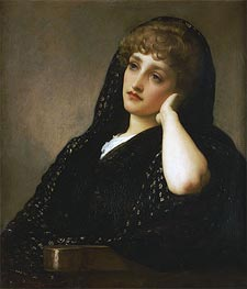Memories, c.1883 by Frederick Leighton | Painting Reproduction