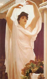 Invocation, 1889 by Frederick Leighton | Painting Reproduction