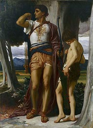 Jonathan's Token to David, c.1868 by Frederick Leighton | Painting Reproduction