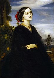 Augusta East, Lady Hoare, undated by Frederick Leighton | Painting Reproduction